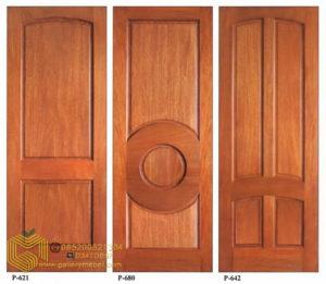 Pintu Kayu Minimalis