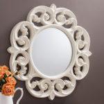 Cermin Dinding Ukiran Minimalis