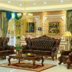 Set Sofa Tamu Klasik Mewah