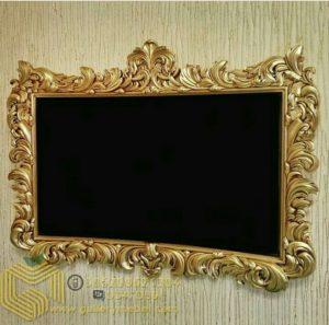 Pigura Cermin Dinding Klasik