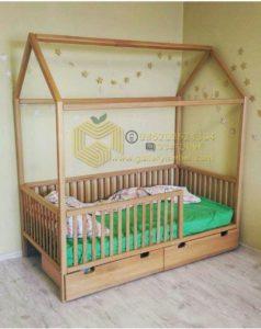 Ranjang Bayi Bentuk Rumah