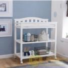 Rak Baby Tafel Minimalis Putih