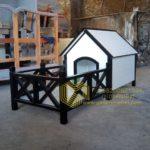 Rumah Anjing Minimalis Cantik