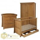Set Kamar Tidur Bayi Minimalis Jati